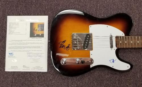 GUNS N' ROSES SLASH AND DUFF SIGNED GUITAR CERTIFIED AUTHENTIC WITH JSA COA psa