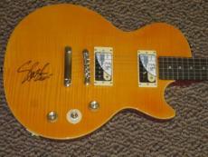 Guns N Roses Slash Signed Autograph Guitar Epiphone Afd Model Autograph Psa Coa