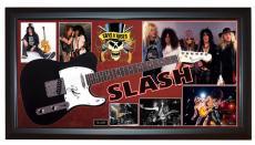 Guns N Roses Slash Signed Tele Guitar + Display Shadowbox Case PSA AFTAL