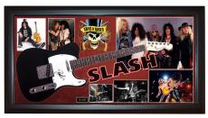 Guns N Roses Slash Signed Tele Guitar + Display Shadowbox Case PSA AFTAL