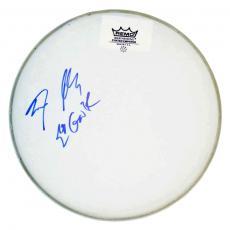 Guns N Roses Steven Adler GnR Autographed Signed Drumhead AFTAL