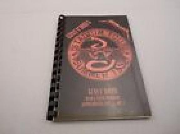 Guns & Roses Summer 1992 Stadium Concert Tour Itinerary Book W/ Metallica SUP.