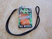 Guns & Roses Velvet Revolver Tour Laminate Backstage Pass Band Owned Slash