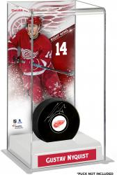 Gustav Nyquist Detroit Red Wings Deluxe Tall Hockey Puck Case
