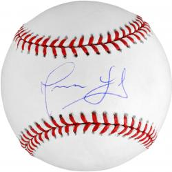 Angel Guzman Chicago Cubs Autographed MLB Baseball - Mounted Memories
