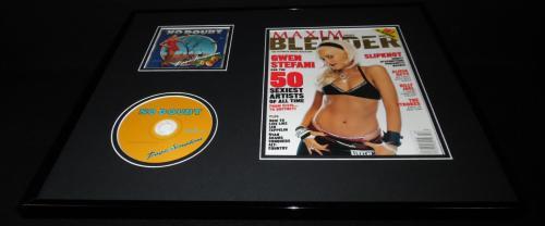 Gwen Stefani 16x20 Framed Blender Magazine Cover  No Doubt Tragic Kingdom CD Set