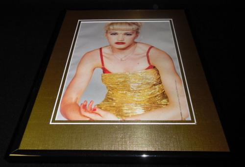 Gwen Stefani 1998 Framed 11x14 Photo Display No Doubt