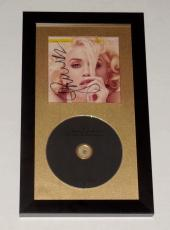 Gwen Stefani Autographed Cd Cover (framed & Matted) - W/ Coa!
