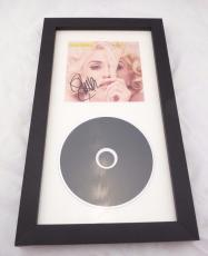 Gwen Stefani No Doubt Sexy Signed Autographed Framed CD Display PSA Guaranteed
