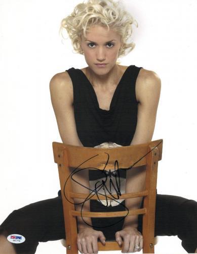 Gwen Stefani Signed Authentic Autographed 11x14 Photo (PSA/DNA) #I45779