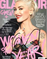 Gwen Stefani Signed - Autographed 2016 GLAMOUR Complete Magazine - No Doubt Singer - Guaranteed to pass PSA or JSA