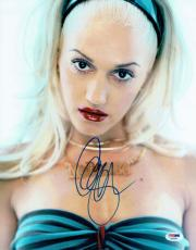 Gwen Stefani Signed Sexy Authentic Autographed 11x14 Photo PSA/DNA #AA76974