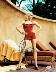Gwen Stefani Signed Sexy Authentic Autographed 11x14 Photo PSA/DNA #AA76976