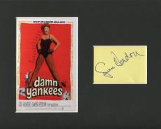Gwen Verdon Cocoon Damn Yankees MASH Star Rare Signed Autograph Photo Display