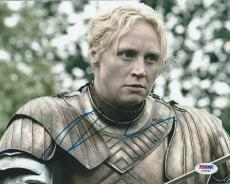 Gwendoline Christie Signed Auto'd 8x10 Photo Psa/dna Coa Z78246 Game Of Thrones