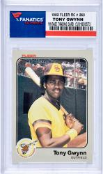 Tony Gwynn San Diego Padres 1983 Fleer #360 Rookie Card