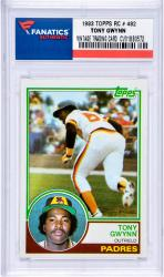 GWYNN, TONY (1983 TOPPS RC # 482) CARD - Mounted Memories