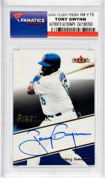 GWYNN, TONY AUTO (2000 FLEER FRESH INK # TG) - Mounted Memories