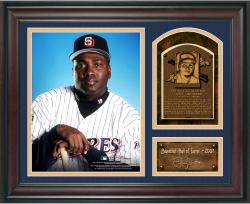 "Tony Gwynn Baseball Hall of Fame Framed 15"" x 17"" Collage with Facsimile Signature"