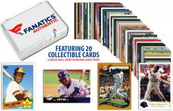 Tony Gwynn-San Diego Padres- Collectible Lot of 20 MLB Trading Cards - Mounted Memories