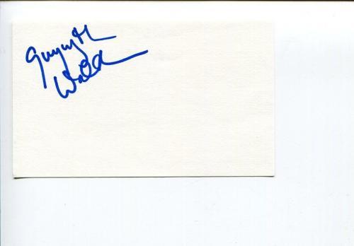 Gwynyth Walsh Star Trek Signed Autograph