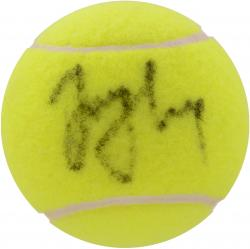HAAS, TOMMY AUTO (TENNIS) BALL - Mounted Memories