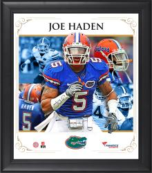 "Joe Haden Florida Gators Framed 15"" x 17"" Core Composite Photograph"