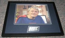 Hal Holbrook Superman Signed Framed 11x14 Photo Display