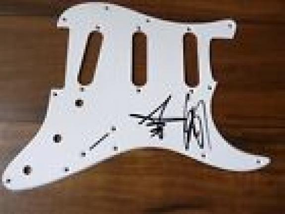 Halestorm Lzzy & Arejay Signed Autographed Guitar Pickguard PSA BAS Guaranteed 2