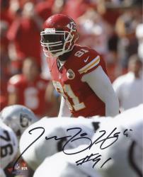 "Tamba Hali Kansas City Chiefs Autographed 8"" x 10"" Photograph -"
