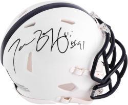 Tamba Hali Penn State Nittany Lions Autographed Riddell Mini Helmet