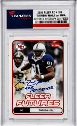 Tamba Hali Penn State Nittany Lions Autographed 2006 Ultra #189 Rookie Card with We Are Penn State Inscription