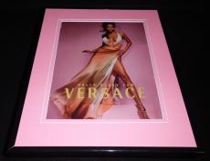 Halle Berry 2006 Versace Framed 11x14 ORIGINAL Vintage Advertisement