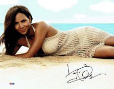 Halle Berry Autographed Signed 11x14 Photo Certified Authentic PSA/DNA AFTAL COA