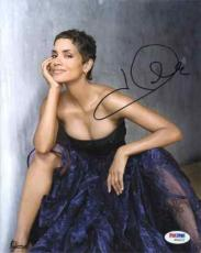 Halle Berry Cleavage Autographed Signed 8x10 Photo Certified Authentic PSA/DNA