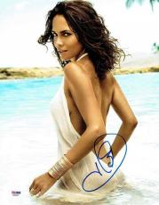 Halle Berry Sexy Autographed Signed 11x14 Photo Certified Authentic PSA/DNA
