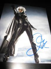 HALLE BERRY SIGNED AUTOGRAPH 8x10 PHOTO XMEN PROMO STORM IN PERSON COA AUTO RARE