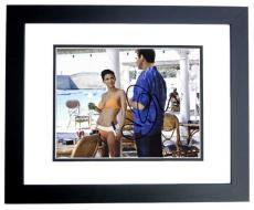 Halle Berry Signed - Autographed Sexy 007 James Bond Girl 8x10 Photo BLACK CUSTOM FRAME - Die Another Day - NSA Agent Jinx