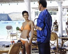 Halle Berry Signed - Autographed Sexy 007 James Bond Girl 8x10 Photo - Die Another Day - NSA Agent Jinx