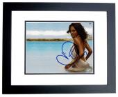 Halle Berry Signed - Autographed Sexy 8x10 inch Photo BLACK CUSTOM FRAME - Guaranteed to pass PSA or JSA