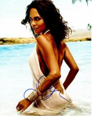 Halle Berry Signed - Autographed Sexy at the Beach 11x14 inch Photo - Guaranteed to pass PSA or JSA