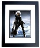 Halle Berry Signed - Autographed X-MEN - Storm 11x14 inch Photo BLACK CUSTOM FRAME - Guaranteed to pass PSA/DNA or JSA