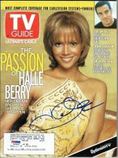 Halle Berry Signed TV Guide Authentic Autographed Magazine PSA/DNA #M79933