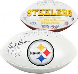 "Jack Ham Pittsburgh Steelers Autographed Pro Football with ""HOF 88"" Inscription"