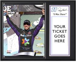Denny Hamlin 2012 Subway Fresh Fit 500 Winner I Was There 12'' x 15'' Plaque - Mounted Memories