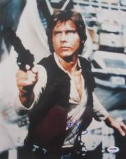 HAN SOLO!!! Harrison Ford Signed STAR WARS 11x14 Photo #1 PSA/DNA LOA