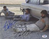 Hangover Cast  Cooper Helms Galifianakis Autographed Signed 8x10 Photo PSA/DNA
