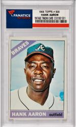 Hank Aaron Atlanta Braves 1966 Topps #500 Card