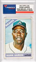 Hank Aaron Atlanta Braves 1966 Topps #500 Card