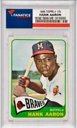 Hank Aaron Milwaukee Braves 1965 Topps #170 Card